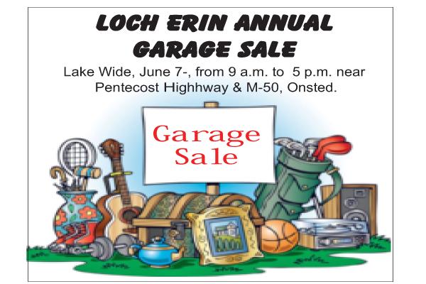 Loch Erin garage sale